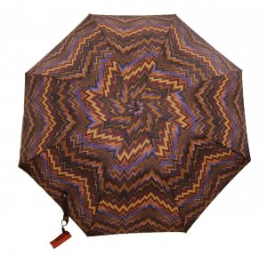 Missoni Walking-Stick Umbrella multicolored ramie