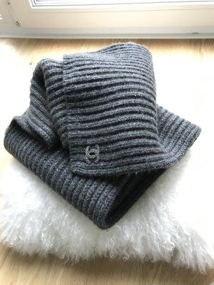 Chanel Écharpe gris