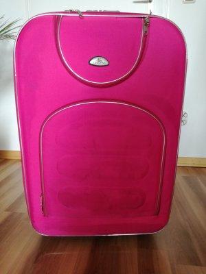 Großer Rollkoffer, pink