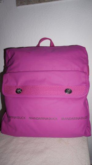 Mandarina Duck Zaino rosa-fucsia neon Fibra tessile