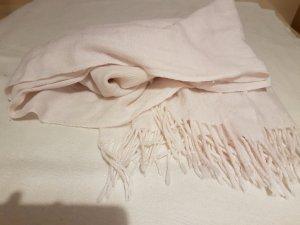 Anderne Wollen sjaal rosé