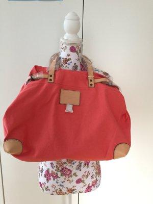 Großer Shopper Beachbag Liebeskind Berlin Mimi U Pink Flamingo