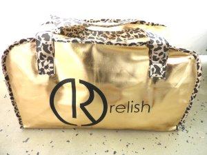 großer Shopper golden Leo Weekender Relish