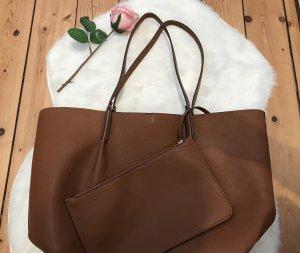 Zara Shopper brown