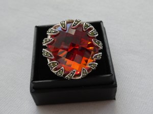 Großer Thomas Sabo Ring Zirkon XL Stein