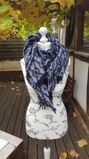 H&M Wollen sjaal zwart-antraciet