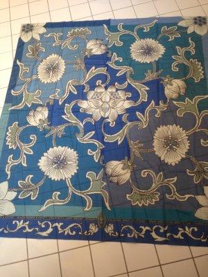 Konplott Zijden sjaal veelkleurig Katoen