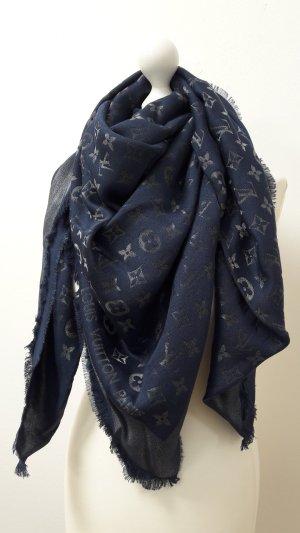 Großes Louis Vuitton Tuch in blau