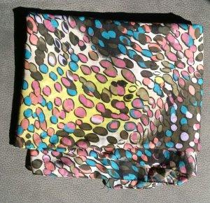 großes Only-Tuch in bunten Herbstfarben