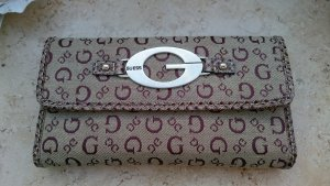 Guess Wallet grey brown-cognac-coloured