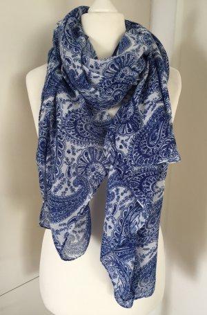 Großes Tuch/Schal im Paisley-Muster - von Mango Violeta (NP 24,95 €)