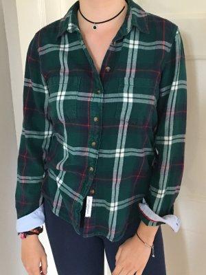 Grün-blau-rot-weiß kariertes Hemd von H&M, kaum getragen