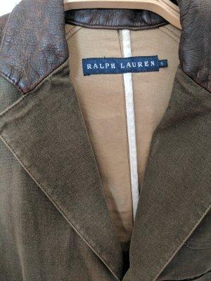 Grün / Braune Ralph Lauren Jacke/Blazer