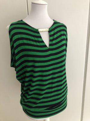 Michael Kors Gestreept shirt groen-donkerblauw