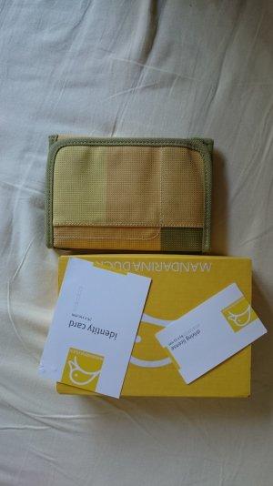 Grün-Gelbes Mandarina Duck MD20 Portemonnaie