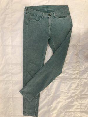 Grün gemusterte Pepe Jeans