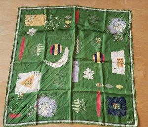 grün gemustertes Halstuch von Esprit