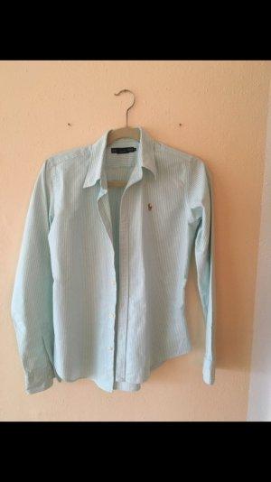 Grün gestreifte Bluse/Hemd