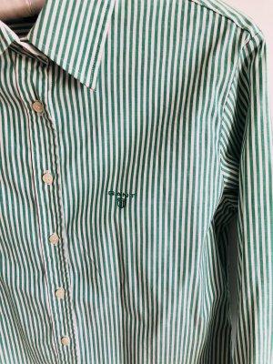 Grün gestreifte Bluse von GANT