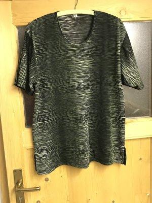 Boothalsshirt zwart-groen