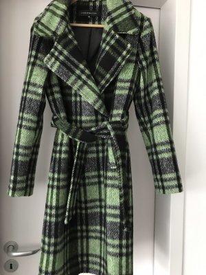 Abrigo de forro verde