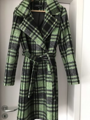 Cappotto in pile verde