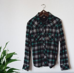 Grün kariertes Flanell Hemd von Lee