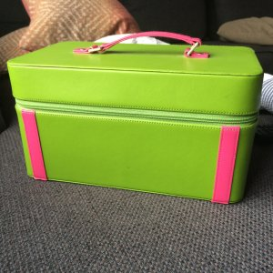 Milano Frame Bag pink-green