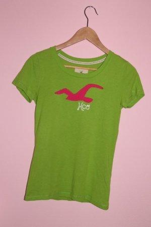 grün/pinkes Hollister T-Shirt