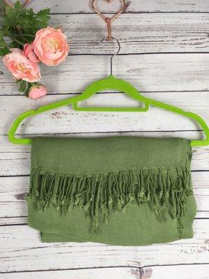 Pashmina verde hierba