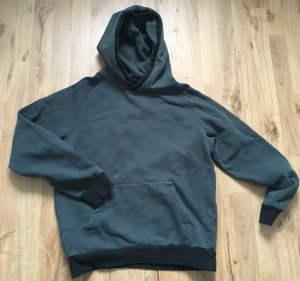 H&M Divided Hooded Sweater black-dark green