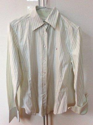 Grün-weiß gestreifte Bluse von Gant