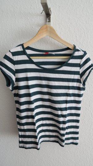 grün weißes T-shirt mit Streifen  36-42