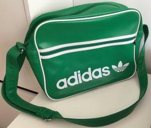 Grüne Adidas College Umhängetasche
