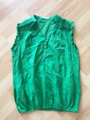 grüne, ärmellose Bluse von promod, Größe L