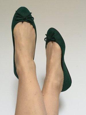 Grüne Ballerina von Zara