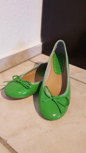 Grüne Ballerinas Gr. 38 nicht getragen