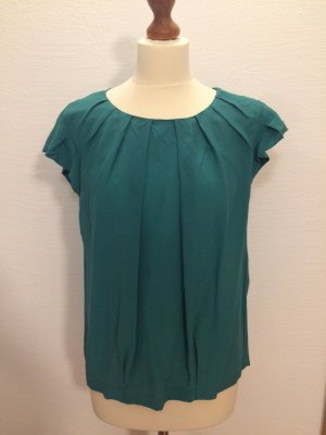 Grüne Bluse aus Seide von Marc Cain