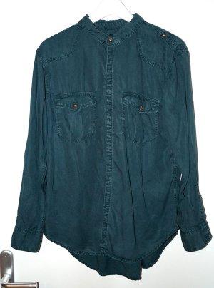 Grüne Bluse mit Gold 42 H&M