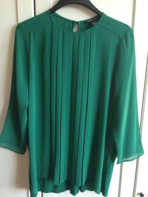 grüne Bluse von Mango