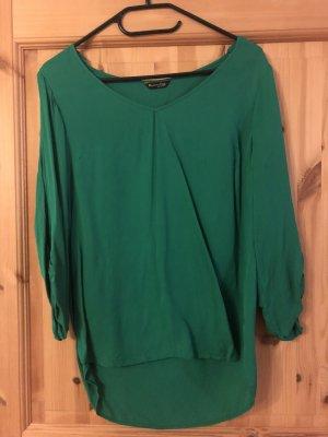 Massimo Dutti Slip-over blouse groen