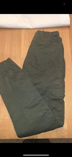 Bamboo Pantalon cargo vert-gris vert
