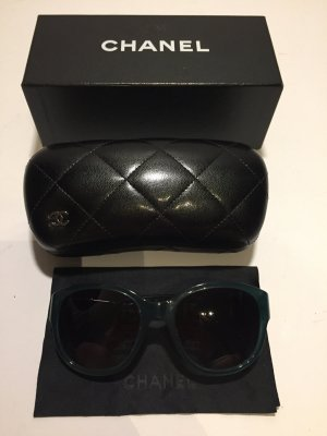 Chanel Sunglasses petrol synthetic material