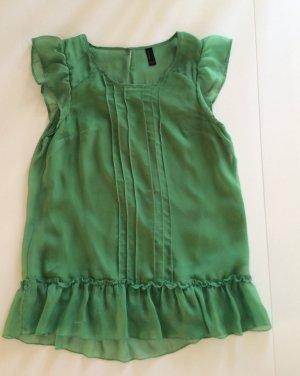 Grüne Chiffonbluse Vero Moda