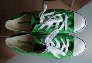 grüne Converse All Star Chucks