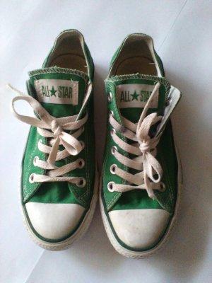 Grüne Converse Chucks