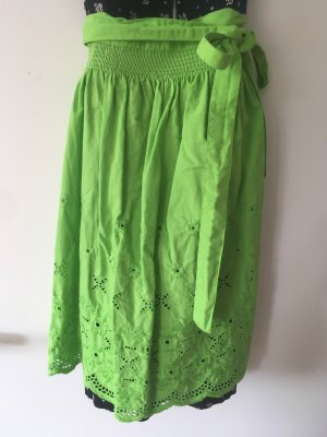 Grüne Dirndlschürze 48cm