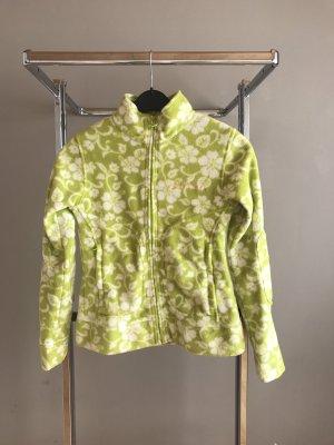 Grüne Fleece Jacke