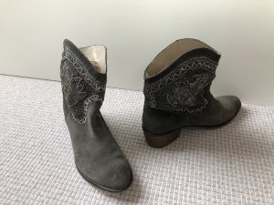 Promod Western Booties forest green