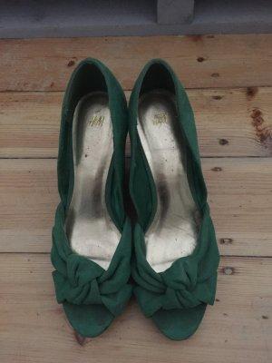 Grüne H&M Wedges